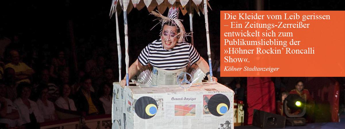 Mr  Lo's Paper-Show | Lorenzo Torres | Entertainment mit Papier